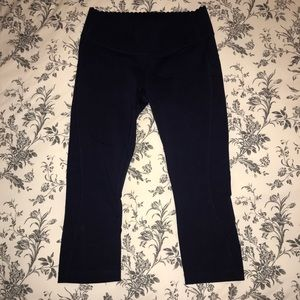 New Balance for J Crew Cropped Legging, Navy